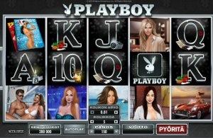 Playboy hedelmäpeli