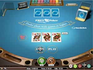 NordicBetin Trey Poker