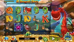 A Dragon's Story -hedelmäpeli